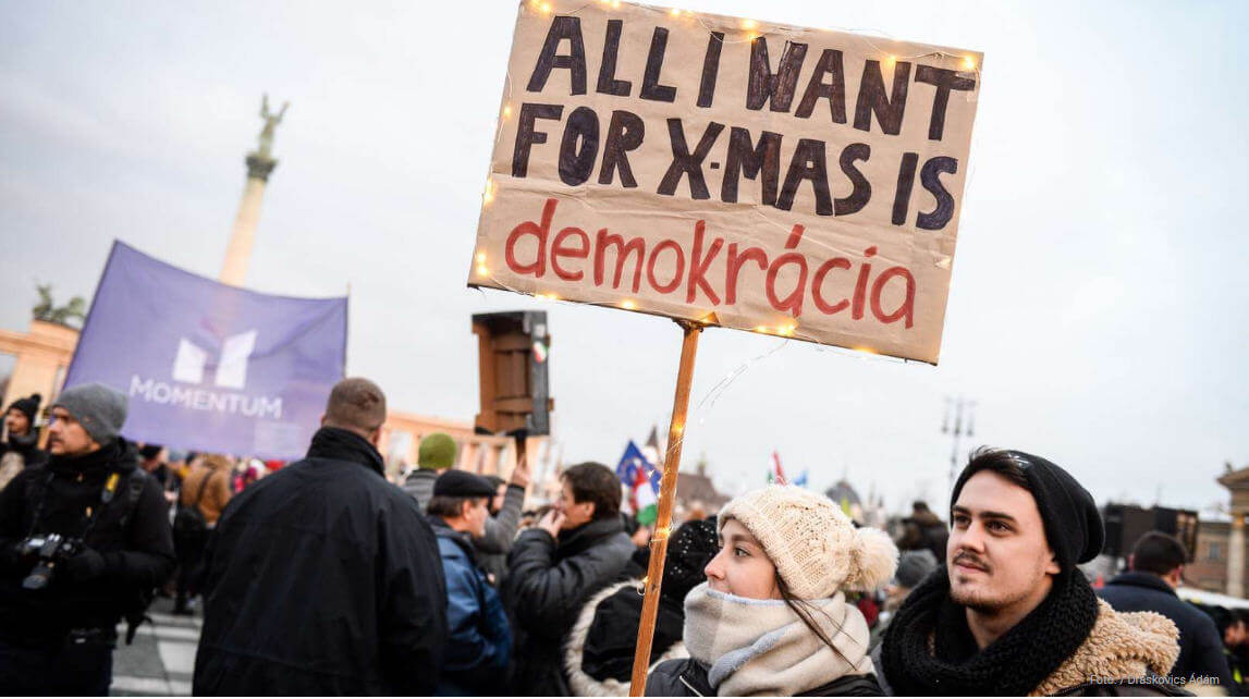 Central Europe more 'satisfied' with democracy amidst deepening ...