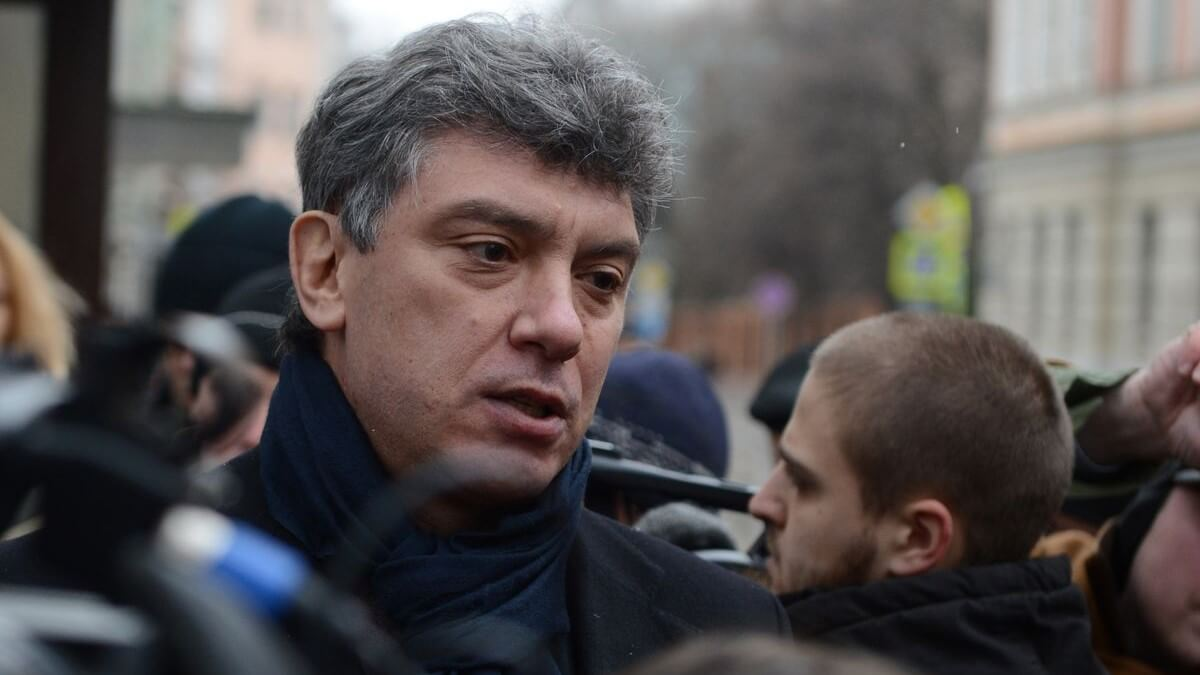 Russian activist Boris Nemtsov was murdered in Moscow in 2015