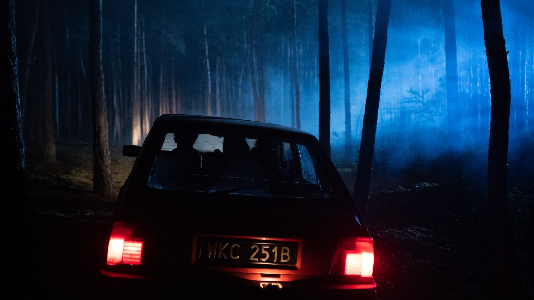 Still from the Netflix show The Woods, adapted from a Harlan Coben thriller